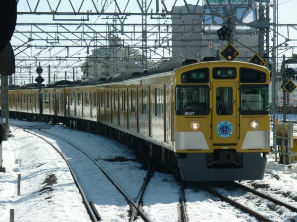 2014-02-16 西武9107F 準急池袋行き1