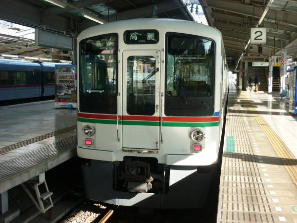 2014-02-16 西武4011F 各停高麗行き1