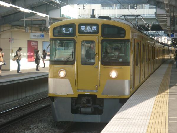2014-02-01 西武2089F 各停豊島園行き