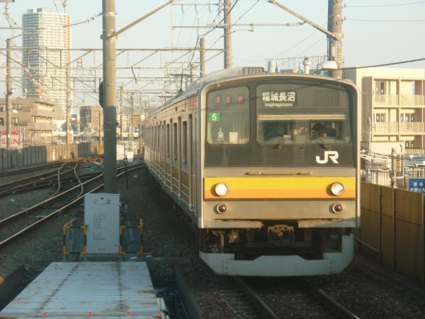 2014-10-17 南武線205系ナハ5編成 稲城長沼行き1