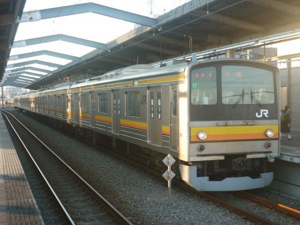 2014-10-17 南武線205系ナハ17編成 川崎行き2
