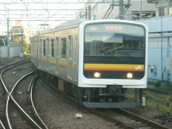 2014-10-17 南武線209系ナハ52編成 稲城長沼行き