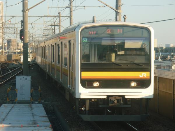 2014-10-17 南武線209系ナハ53編成 立川行き