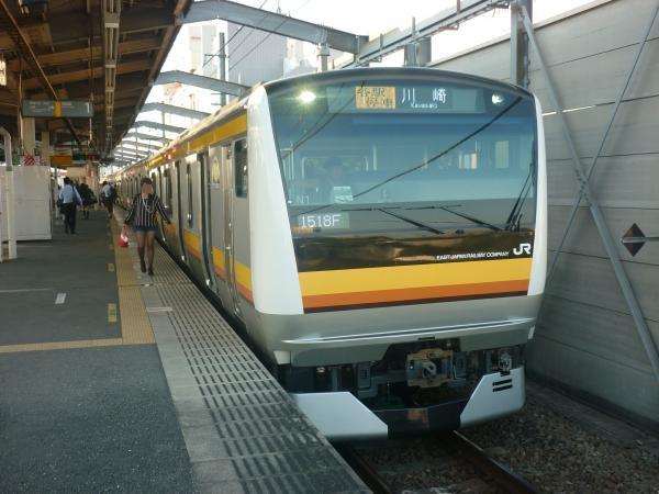 2014-10-17 南武線E233系ナハN1編成 各駅停車川崎行き2