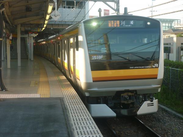 2014-10-17 南武線E233系ナハN1編成 各駅停車川崎行き1