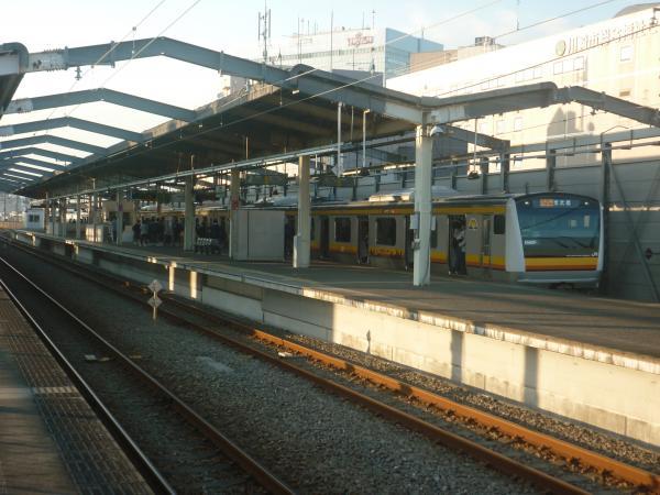 2014-10-17 南武線E233系ナハN6編成 各駅停車川崎行き1