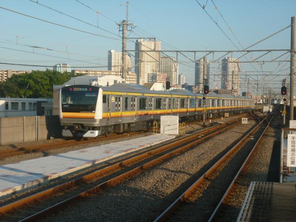 2014-10-17 南武線E233系ナハN6編成 各駅停車川崎行き2