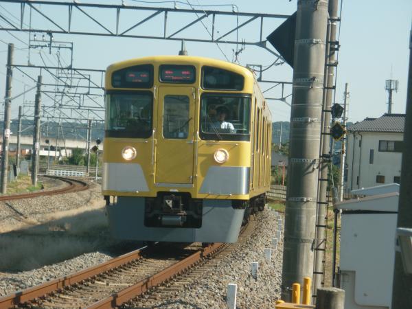 2014-10-18 西武2073F 各停飯能行き 5113レ