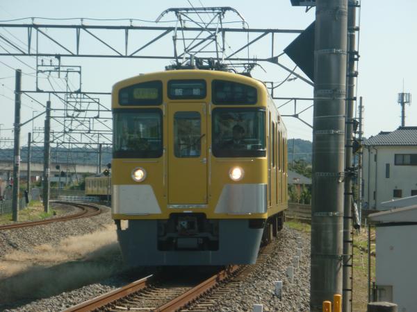 2014-10-18 西武2459F+2079F 通勤急行 -‐ 2115レ