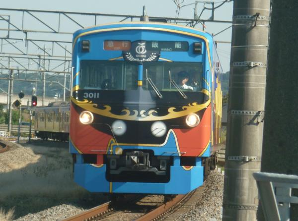 2014-10-18 西武3011F 急行飯能行き 2129レ