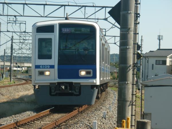 2014-10-18 西武6109F 快速急行飯能行き 1709レ