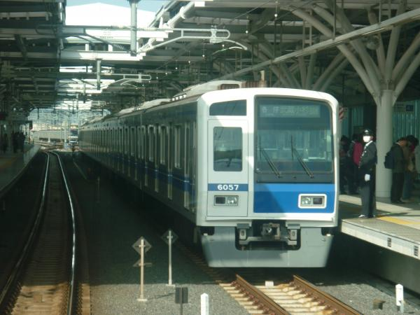 2014-10-18 西武6157F 各停武蔵小杉行き 6808レ