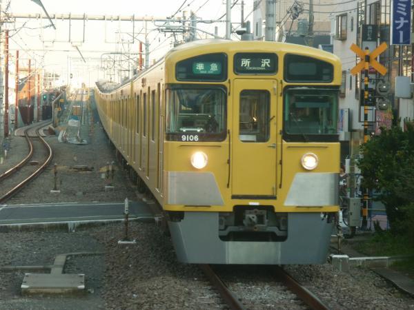 2014-10-18 西武9106F 準急所沢行き 4309レ