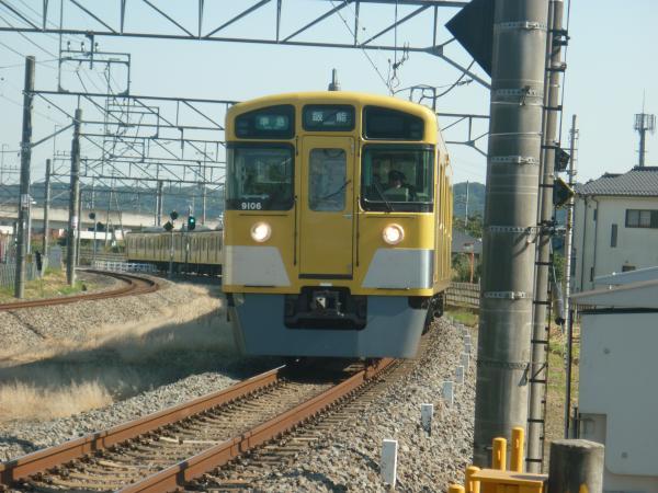 2014-10-18 西武9106F 準急飯能行き 4125レ