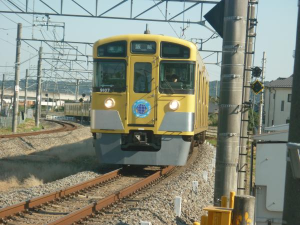 2014-10-18 西武9107F 準急飯能行き 4129レ