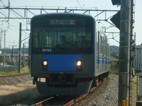 2014-10-18 西武20153F 各停飯能行き 5109レ