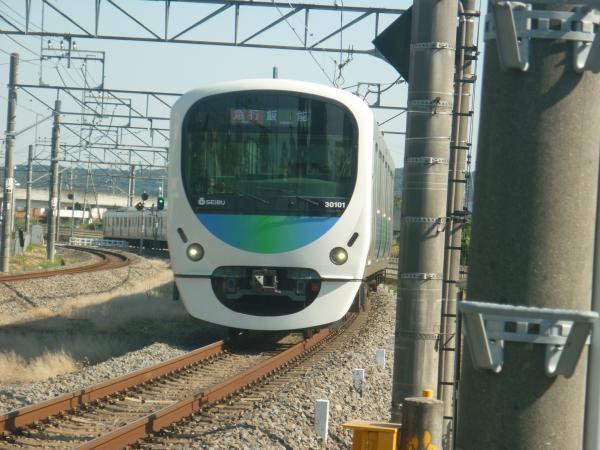 2014-10-18 西武30101F 急行飯能行き 2127レ