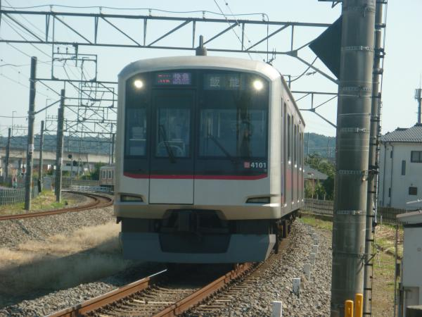 2014-10-18 東急4101F 快急飯能行き 1707レ