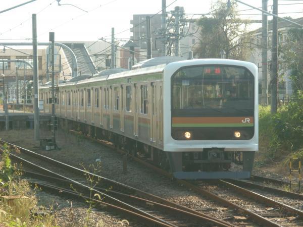 2014-10-18 八高線209系ハエ71編成 川越行き