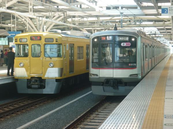 2014-10-19 西武2003F 東急5170F