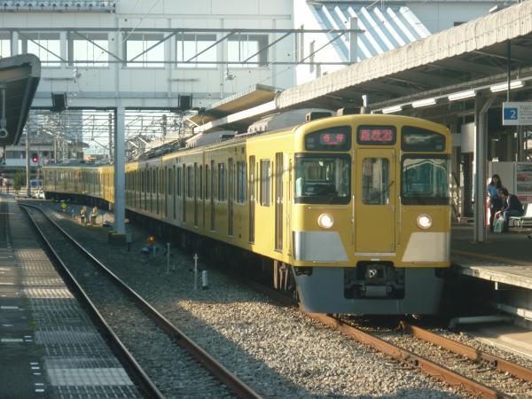 2014-10-19 西武2097F 各停西所沢行き 6158レ