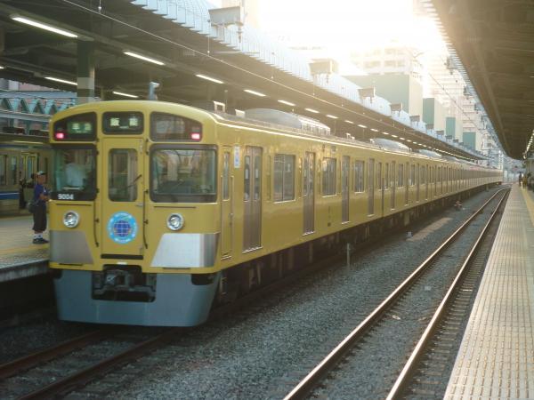 2014-10-19 西武9104F 準急飯能行き5 4143レ