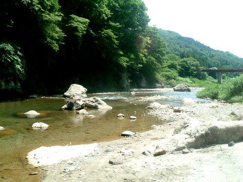 名取川秋保温泉上流1