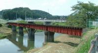くりでん鴬沢鉄橋跡1