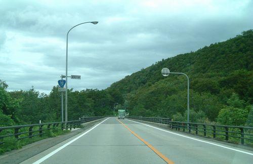 国道112号月山越え1