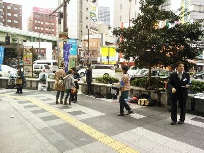 11月17日(日) 大阪ブルーリボンの会 難波高島屋前 001