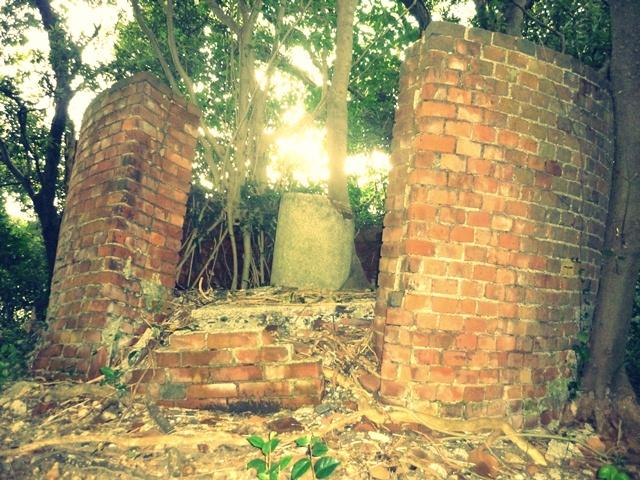 円筒壁付後部観測所