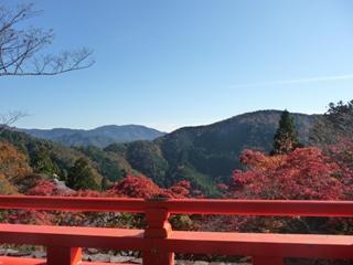 鞍馬山からの全景