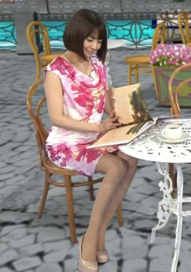 小林麻耶 ミニスカ美脚 (20131129)