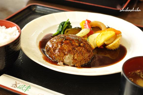 黒ちゃん豆腐ハンバーグ