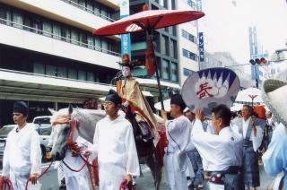 祇園祭ー稚児3