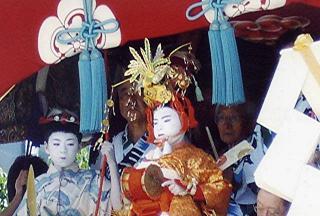 祇園祭ー稚児の舞