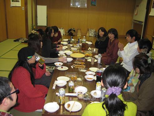 新春カレンダー展クロージングパーティ 022