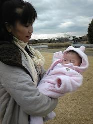 ティナの赤ちゃん(えまちゃん)