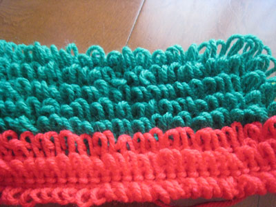 リング編みのモップ~