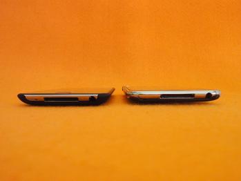 エアージャケットを装着した第二世代と第四世代iPod tochを比較する