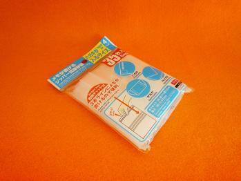 先日100円ショップで購入したメモ付きの透明袋を買い増ししました