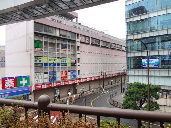 立川駅北口の立川第一デバートが閉店していました。