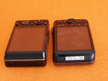 ソニーのデジタルカメラDSC-WX50とDSC-wx1を比較する