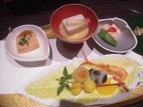 旅行 夕飯1