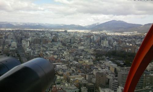 タワーからの眺望