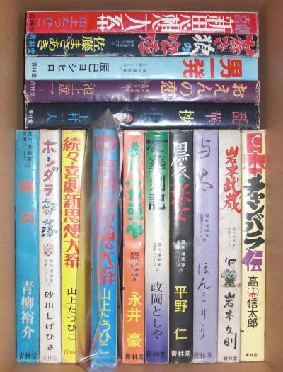 青林堂現代漫画家自選シリーズ