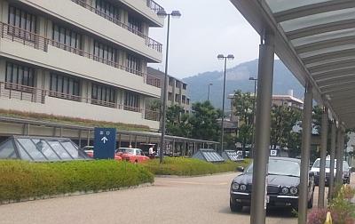 病院前から大文字山チラ