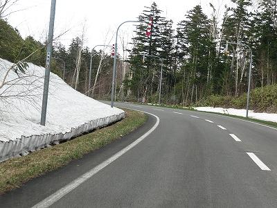 s-望岳台までの道路