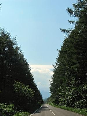 s-山の変わりに雲?!