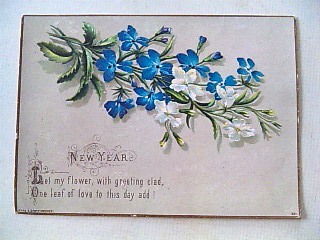 英国New Year Card